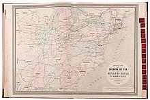 Chaix (Napoléon) - Atlas des Chemins de Fer,