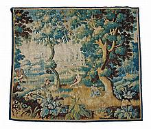 A Continental verdure tapestry, 18th century