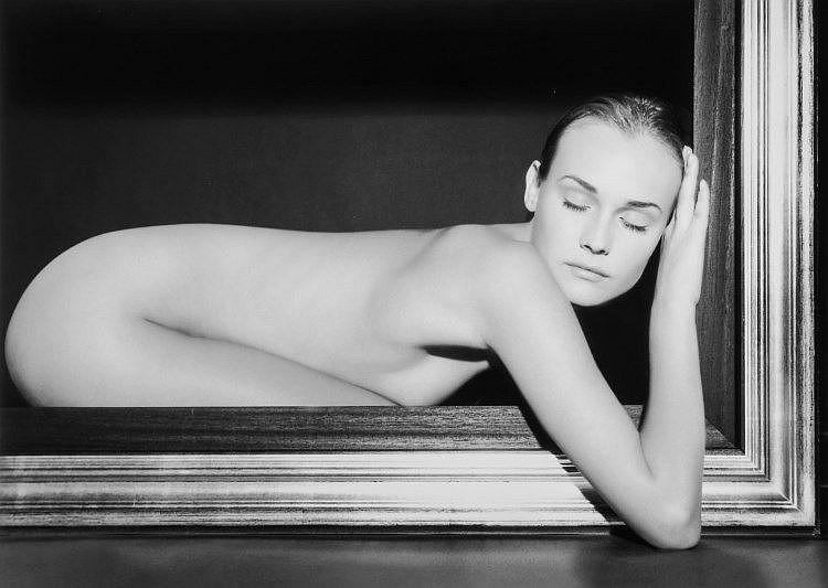 Vanessa Von Zitzewitz (contemporary) - Sleeping Angel, Diane Kruger, 2002