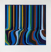 Ian Davenport (b.1966) - Colourplan Series - Royal Blue