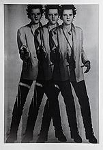 Gavin Turk (b.1967) - Triple Pop (Silver)