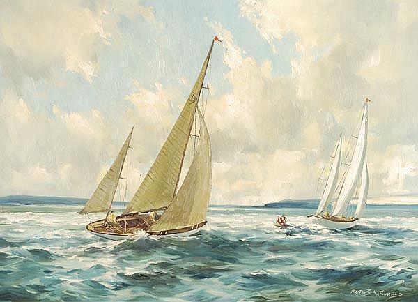 Arthur H. Twells (20th century). Rounding the