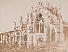 Francis Frith (1822-1898) - Melrose Abbey, 1856