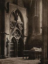 Frederick H. Evans (1853-1943) - In Sure and Certain Hope, 1904 and Ely Cathedral: Across Nave and Octagon, 1903