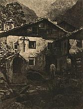 Hans Watzek (1848-1903) - A Village Corner, 1906