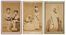 Alberto Henschel (1827 - 1882) and others - A collection of cabinet cards and cartes-de-visite, 1860s-1880s