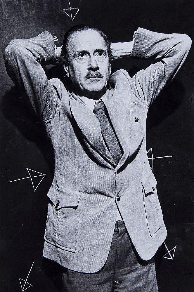 Brian Griffin (b.1948) - Marshall McLuhan, Toronto, 1978