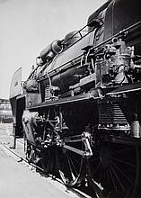 Willy Ronis (1910-2009) - Locomotive, Gare du Nord, 1938