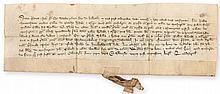 Grant by Sybil widow of Adam of Kelbrok to Robert Bonemfaunt vicar of the...
