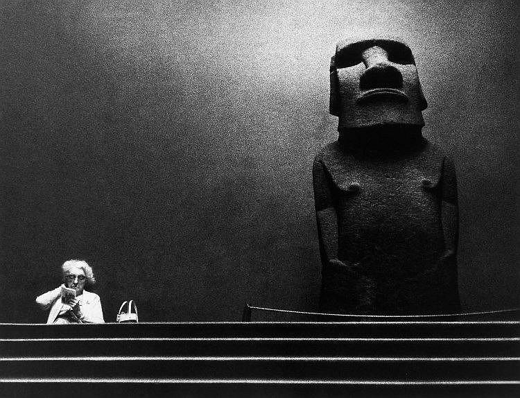 Romano Cagnoni (b. 1935) - British Museum, 1967