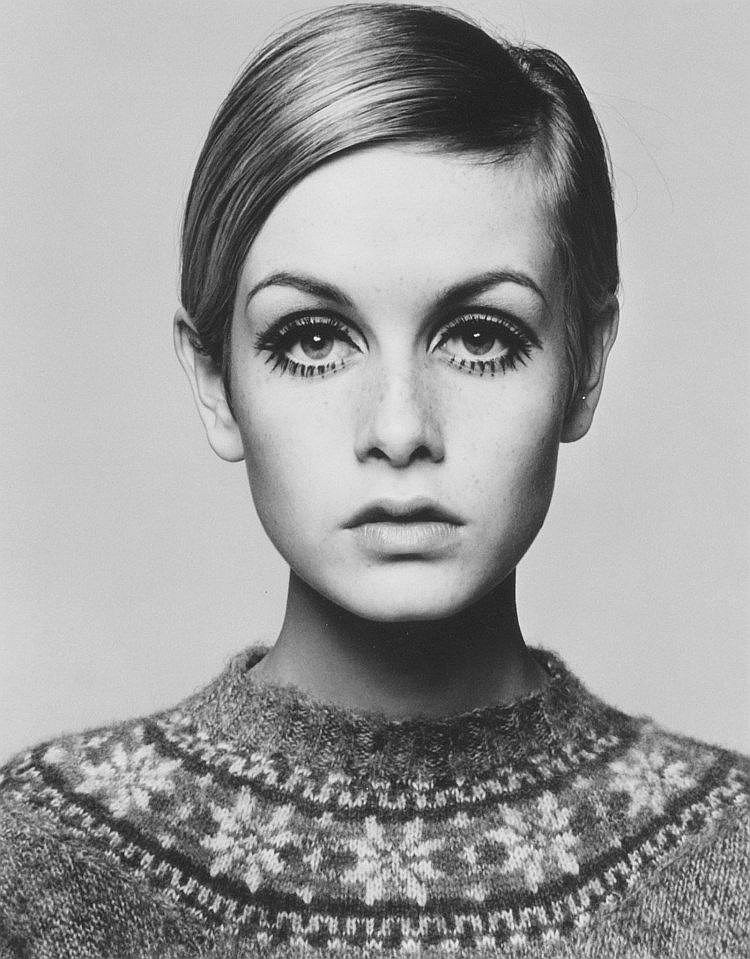 Barry Lategan (b.1935) - Twiggy, 1966