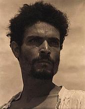 Ned Scott (1907-1964). Mexican Fisherman, Alvarado, Mexico, 1934. Gelatin silver print, photographe