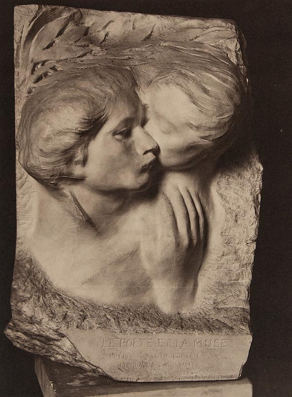 Pierre Choumoff (1872-1936). Six studies of Rodin's Sculptures, ca. 1915. Six gelatin silver prints