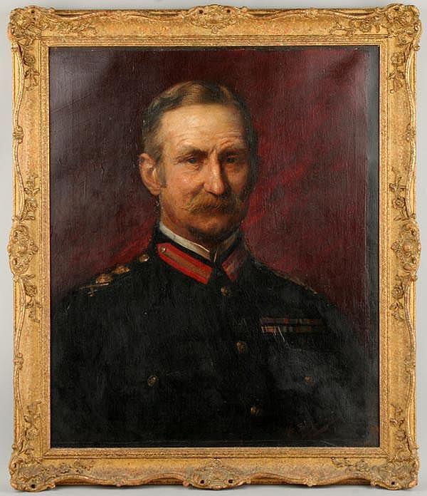 Augusto Stoppoloni (Italian, 1855-1910) Portrait