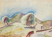 Frank Dobson (1888 - 1963) - Landscape