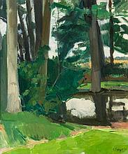 Claude Rogers (1907-1979) - Rectory Pond, 1959