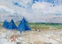 Peter Greenham (1909-1979) - Beach Scene
