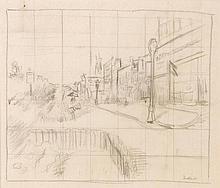 Walter Richard Sickert (1860-1942) - Rue Aguado - Dieppe, c1910