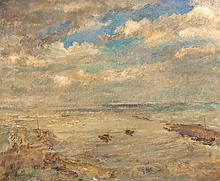 Dame Ethel Walker (1861-1951) - Robin Hood Bay - Seascape