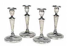 A matched set of four late Victorian oval