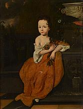Attributed to Adriaen van der Werff Portrait of a young girl held to be...