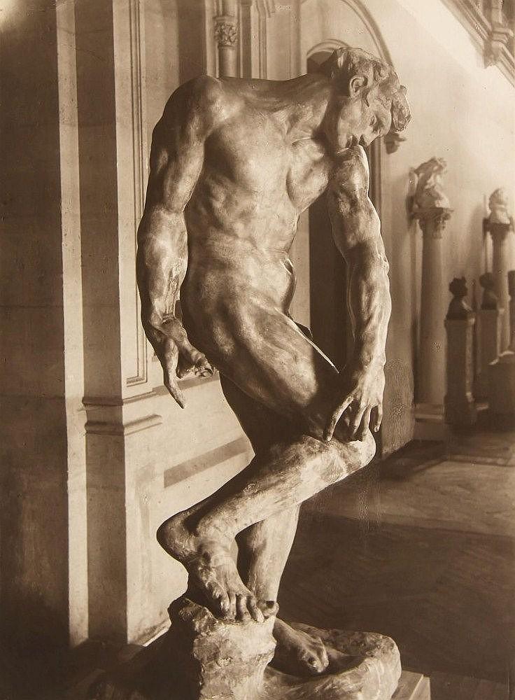 Pierre Choumoff (1872-1936) - Six studies of Rodin's Sculptures, ca. 1915