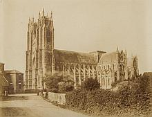 William Russell Sedgefield (1826-1902) - Beverley Minster, ca.1858 and others