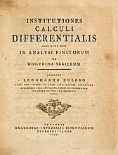 Euler (Leonhard) - Institutiones Calculi Differentialis