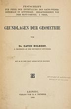Grundlagen der Geometrie, first edition, diagrams to text
