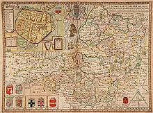 Somersetshire.- Speed (John) - Somersetshire Described,