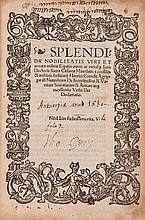 Agrippa von Nettesheim (Heinrich Cornelius) - De Incetitudine & Vanitate Scientiarum & Artium atque Excellentia Verbi Dei Declamatio,