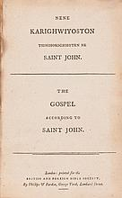 New Testament, Mohawk. The Gospel According to Saint John