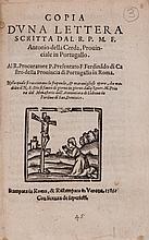 Discorso..., 24pp., woodcut printer's device on title