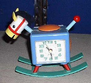 Sold Price A Novelty Plastic Alarm Clock In The Shape Of A Rocking Horse With Sound Effects 14cm September 2 0103 10 30 Am Gmt