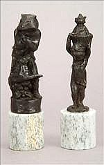 Donald Gilbert, FRBS (1900-1961), a bronze figure