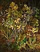 Peter Newcombe (b.1943) Cowslips, bluebells and, Peter  Newcombe, Click for value