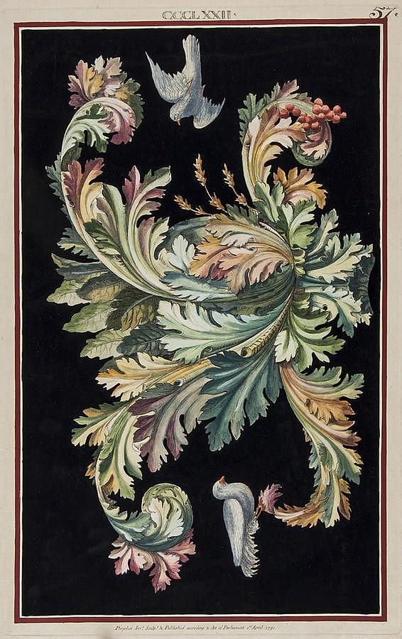 Michelangelo Pergolesi (fl. 1760-1801) [Designs