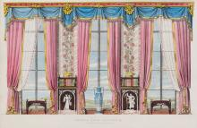 Bridgens (R.) - Furniture with Candelabra and Interior Decoration,