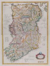 Mercator (Gerard) and Henricus Hondius. - [Northern Ireland] Hiberniae pars Australis,