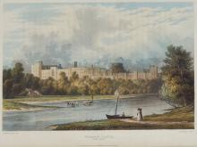 Westall (William) and Samuel Owen. - Picturesque Tour of the River Thames,