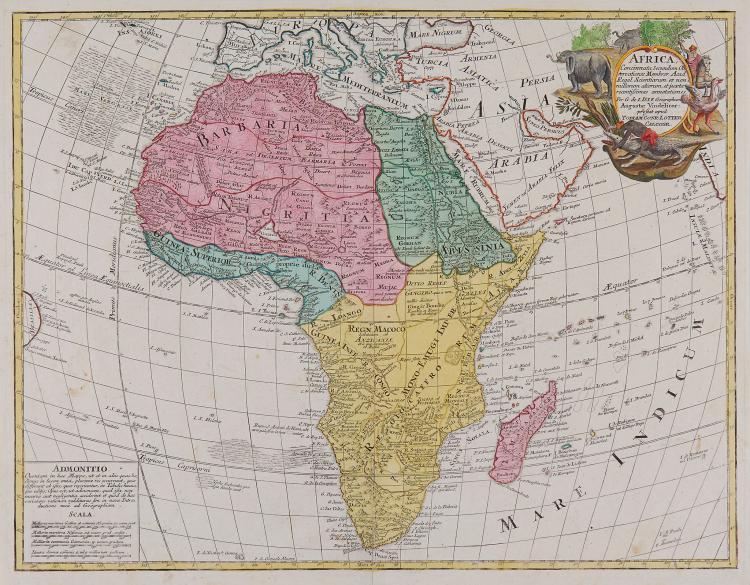 Lotter (Tobias Conrad) - Africa Concinnata Secundum Observationes Membror. Acad. Regal. Scientiarum,