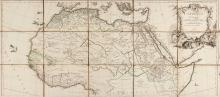 Robert de Vaugondy (Gilles & Didier) - L'Afrique divisée en ses Empires, Royaumes et Républiques,