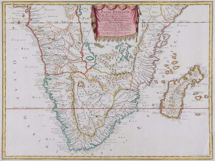 Sanson d'Abbeville (Nicolas) - Basse Æthiopie,