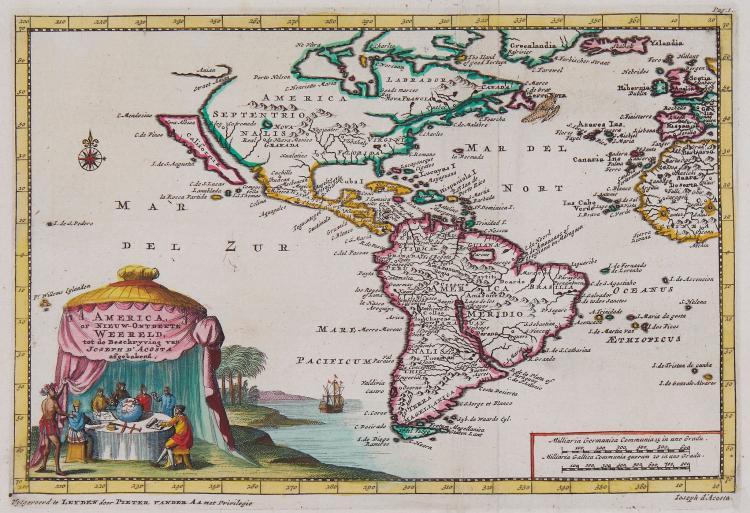 Aa (Pieter van der) - America of Nieuw-Ontdekte Weereld,