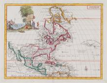 Albrizzi (Giovanni Battista) - Carta Geografica dell'America Settentrionale,