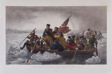 Girardet (Paul) - Washington Crossing the Delaware