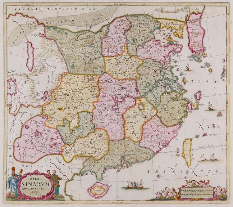 Loon (Jan van) - Imperii Sinarum Nova Descriptio,