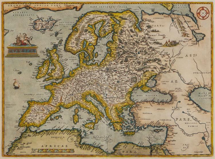 Ortelius (Abraham) - Europae,