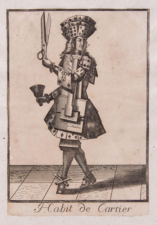 Larmessin (Nicolas de) - [Costumes Grotesques],
