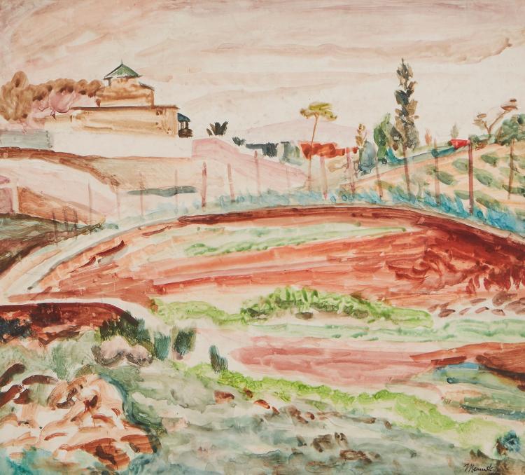 Meninsky (Bernard) - Landscape, Cagnes,